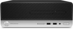 HP ProDesk 400 G4 3.9GHz i3-7100 SFF Black,Silver PC