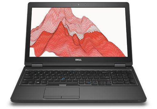 "DELL Precision 3520 2.8GHz i7-7700HQ 15.6"" 1366 x 768pixels Black Mobile workstation"