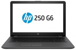 "HP 250 G6 1.1GHz N3350 15.6"" 1366 x 768pixels Black Notebook"