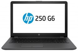 "HP 250 G6 2.5GHz i5-7200U 15.6"" 1366 x 768pixels Black Notebook"