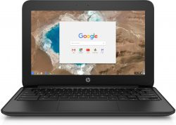 "HP Chromebook 11 G5 EE 1.6GHz N3060 11.6"" 1366 x 768pixels Touchscreen Black,Grey Chromebook"