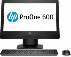 "HP ProOne 600 G3 AiO + ProDisplay P240va 3.4GHz i5-7500 21.5"" 1920 x 1080pixels Black All-in-One tablet PC"