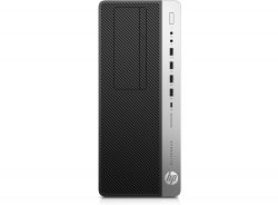 HP EliteDesk 800 G3 Tower + AirPods 3.6GHz i7-7700 Tower Black, Silver PC
