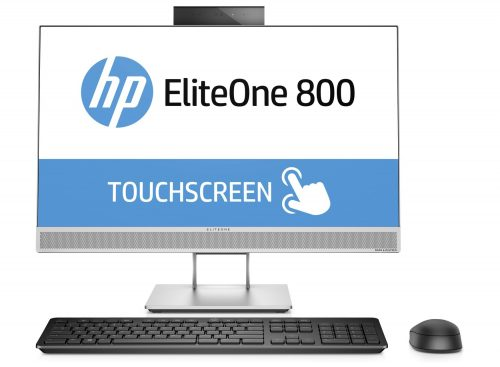 "HP EliteOne 800 G3 AiO + ProDisplay P240va 3.6GHz i7-7700 23.8"" 1920 x 1080pixels Touchscreen Black, Silver All-in-One PC"