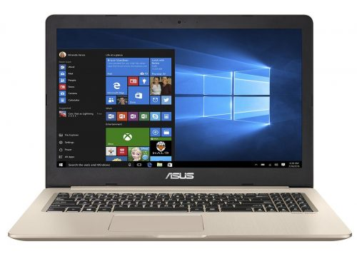 "ASUS VivoBook Pro N580VD-DM229T 2.8GHz i7-7700HQ 15.6"" 1920 x 1080pixels Gold Notebook"