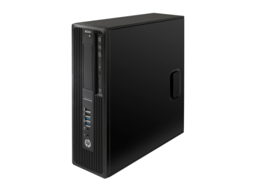 HP Z240 3.5GHz E3-1240V5 SFF Black Workstation